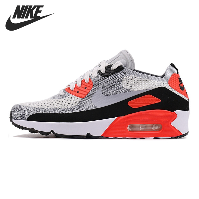 Original New Arrival 2017 NIKE AIR MAX 90 ULTRA 2.0 FLYKNIT Men's Running Shoes Sneakers nike air max 90 красно белые