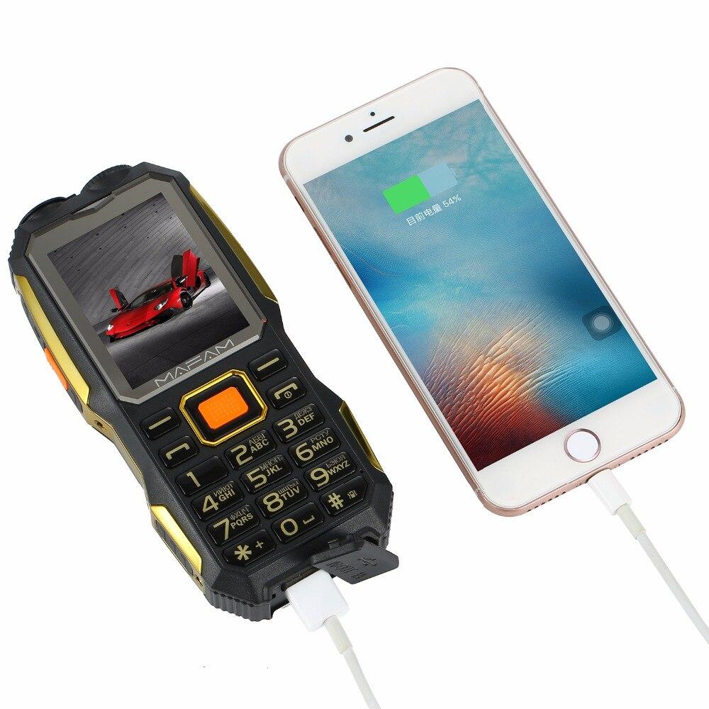 MAFAM M2 Ruso Árabe 4000mAh Tarjetas Dual SIM UHF Walkie Talkie - Teléfonos móviles - foto 6
