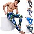 Impresión Al Por Mayor de los hombres de Algodón U Convexa Diseño Largo Johns Pantalones Calientes Modales Polainas Equipamiento Del Hogar