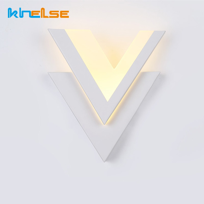 Modern LED Wall Light 9W 12W Art Creative Bathroom Bedroom Wall Lamp Indoor Lighting Lamp AC85-265V LED Wall Warm White Decorate