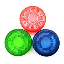Mooer 3 piezas Footswitch Topper de colores seleccionados caramelo colorido parachoques de plástico Pedal de efectos de guitarra eléctrica protectores