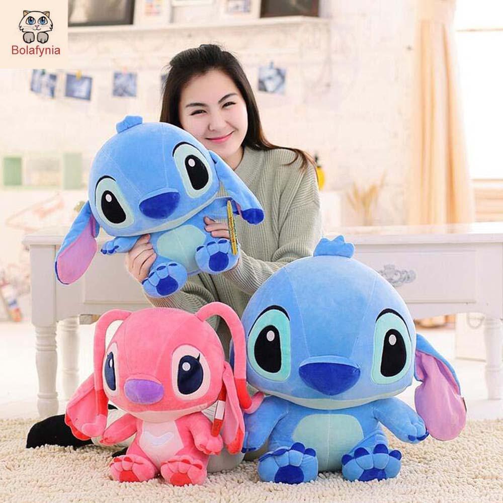 BOLAFYNIA Stitch Lilo & Stitch peluche bambola giocattolo per bambini giocattolo Farcito per i bambini del bambino di compleanno regalo Di Natale
