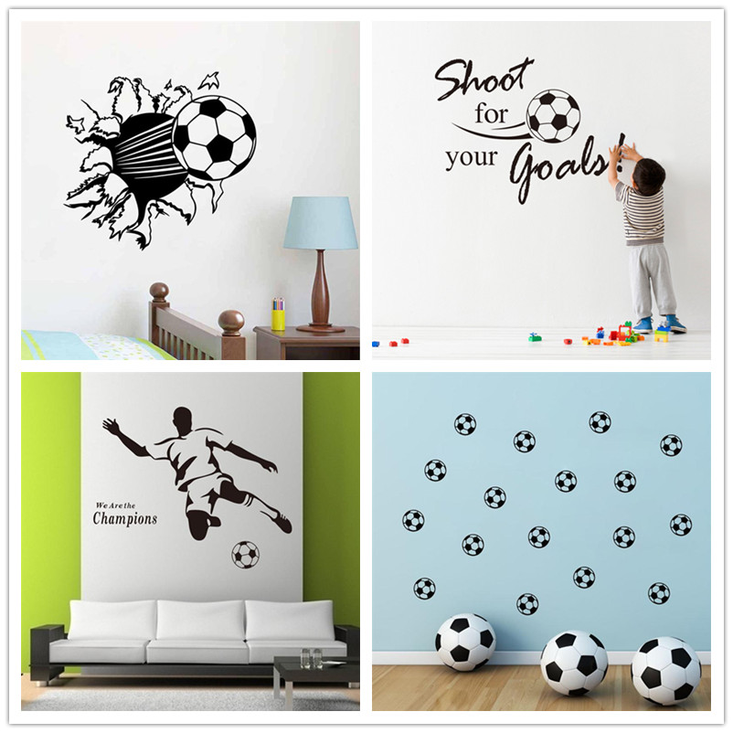 9e58f756424 fantasy Football Kids room decor boy gift boy bedroom decor letters wall  sticker wall decal 711. home decor removable vinyl 2.5-in Wall Stickers  from Home ...