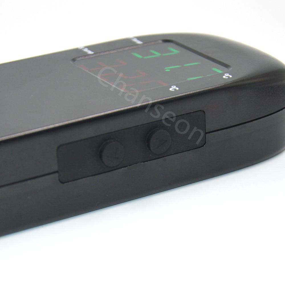 AC 90V ~ 250V digitális LED kijelzős foglalat tenyésztési - Mérőműszerek - Fénykép 4