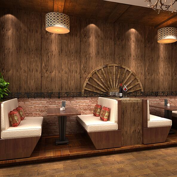 vintage chinesischen stil antike holz tapete hintergrund wand tapete retro finishing tapete holz. Black Bedroom Furniture Sets. Home Design Ideas