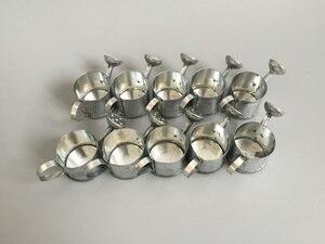 Image 3 - 50 ピース/ロットD3.5XH3cm最小散水缶バケツ金属装飾おもちゃ散水缶ドールハウス