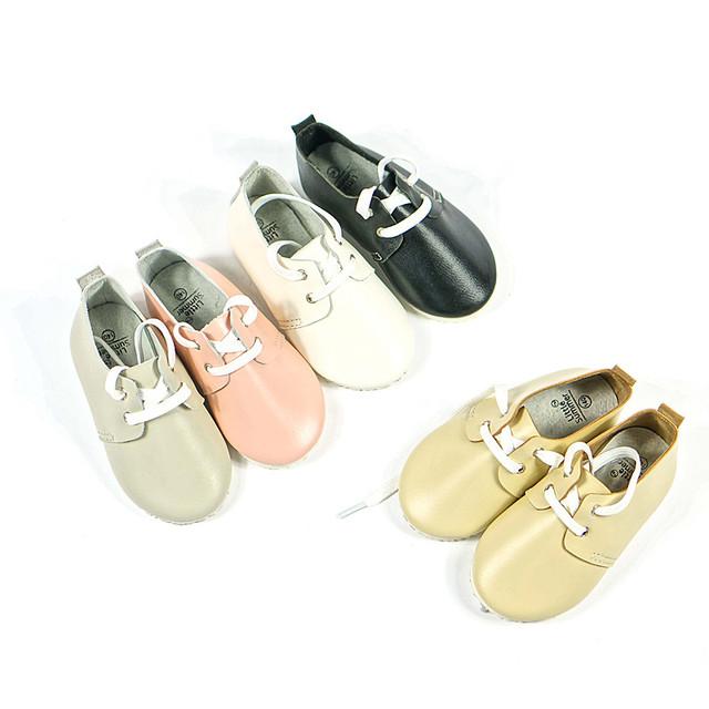 Primeros Caminante zapatos de Bebé Niño zapatos mocasines de Gamuza de Cuero genuino antideslizante Zapatos inferiores Infantiles Niños