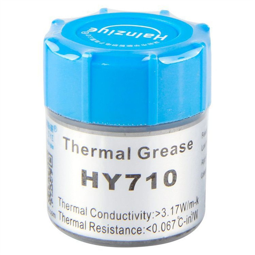 10g Golden Thermal Paste Grease Compound Silicone For PC CPU Heatsink