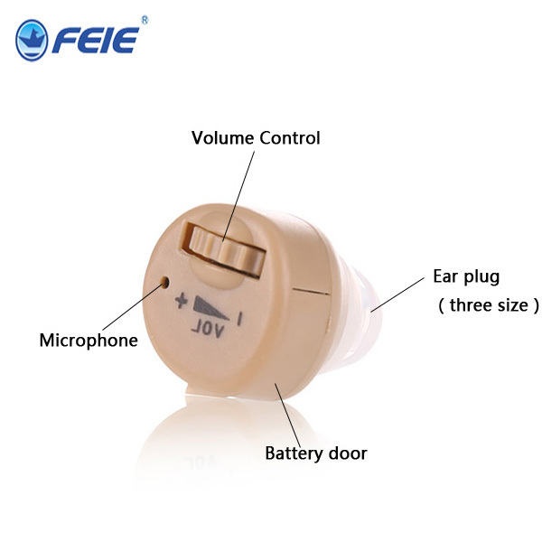 2 PCS/Lot Hearign Aid ITC Sound Amplifier in the ear care for deafness Hearing S-85
