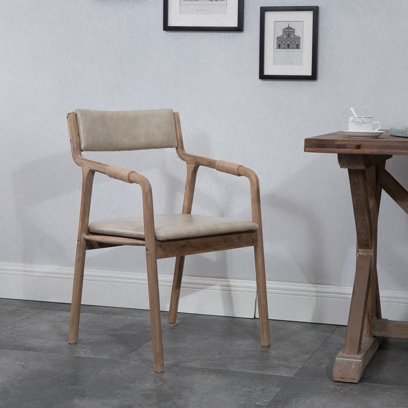 Awesome Us 92 83 29 Off Solid Wood Curved Wood Dining Chair Modern Retro Simple Coffee Chair Back With Armchair Leisure Chair In Dining Chairs From Machost Co Dining Chair Design Ideas Machostcouk