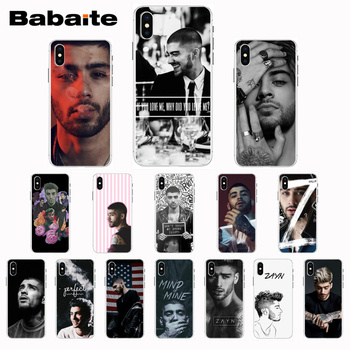 Babaite Zayn Malik One Direction Phone Case Cover for iPhone 8 7 6 6S plus X Xs Xr XsMax 5 5s SE 5c Cover11 11pro 11promax image