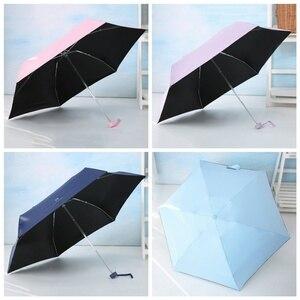 Image 3 - Llegada fresca protección UV Sun sombra de paraguas hombres y mujeres estudiantes cinco plegable claro para Girljjps