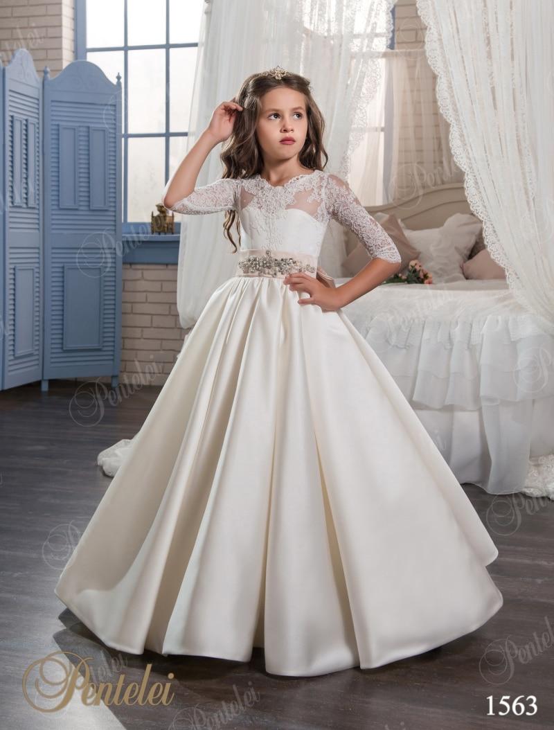 2017 Long Sleeve Flower Girls Dresses For Weddings Cheap ... - photo #33
