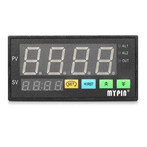 Image 4 - Đa chức năng DC 24 v Kỹ Thuật Số LED Hiển Thị Cảm Biến Meter với 2 Báo Động Tiếp Sức Đầu Ra và 0 ~ 10 v/4 ~ 20mA/0 ~ 75mV Đầu Vào