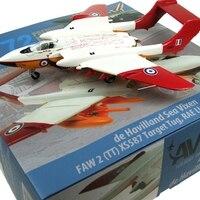 Fine rare AV72 1/72 Havilland Sea Vixen FAW 2 (TT) XS587 Target Tug, Rae Llanbedr 1984 AV7253002 Alloy aircraft model
