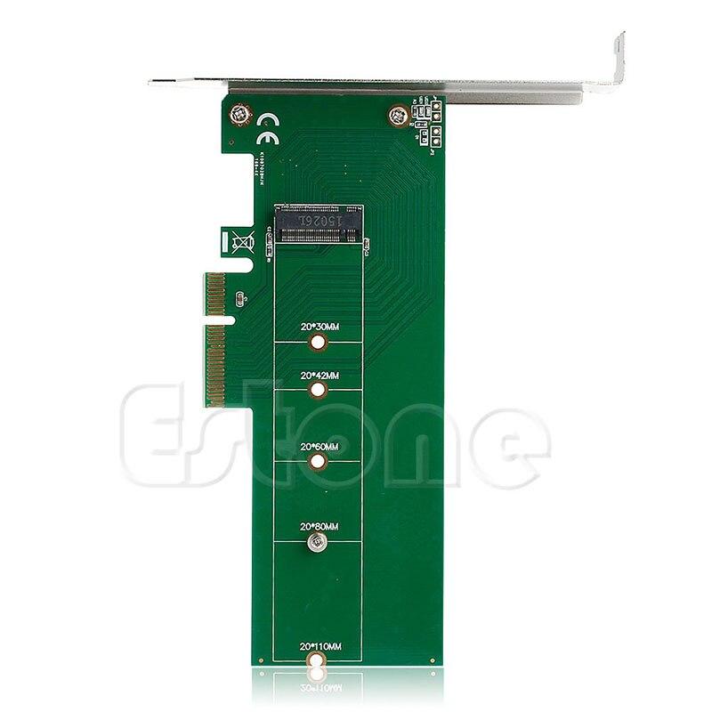 3.0x4 Lane хост Converter адаптера M.2 NGFF M ключ SSD PCIe PCI Express ...