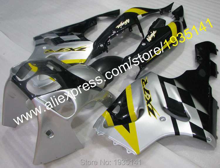 Hot Sales,For Kawasaki Fairing Ninja ZX-7R Motorbike bodywork kit 636 1996-2003 ZX7R 96 97 98 99 00 01 02 03 ZX 7R Cowling parts
