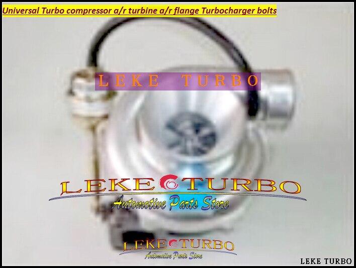 Universal Turbo GT3076-3 Compressor AR 0.70 Turbine AR 0.86 ;5-Bolts; T25 flange 5bolt +V BAND adaptor Journal Turbocharger kinugawa turbine outlet steel flange 5 bolt f rd falcon xr6 g rr tt gt3540 turbo 412 03002 006