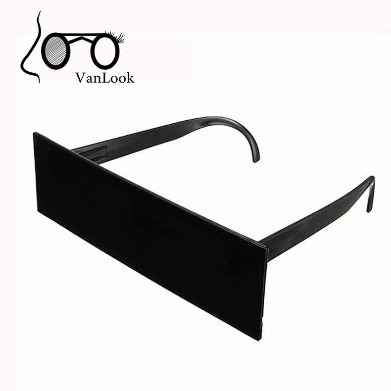 Bien connu Black Bar Sunglasses One Piece Rectangle Sun Glasses Deal With It  DG29