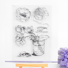 Clear Stamp Scrapbook DIY photo cards rubber stamp seal stamp  cute  transparent silicone transparent stamp