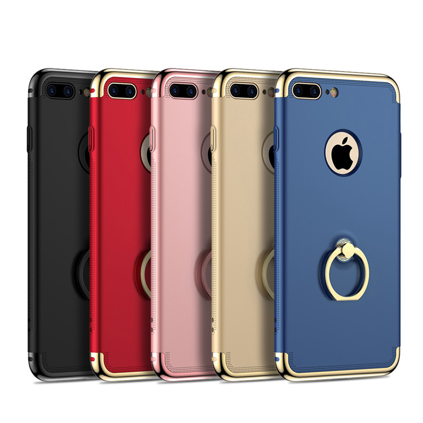 fcb17898dfd 3 en 1 dropproof completa Cuerpo Slim cover 360 estuche para iPhone 5 5S 6  6 s 6 Plus/ 6 splus 7 más 7 casos más teléfono diyabei