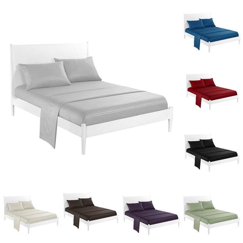 Imitation Satin Sateen Bedding Sets Bedroom Bed Set Bedclothes Children Duvet Cover Sheet Bedspread Pillowcase Comforter US Size