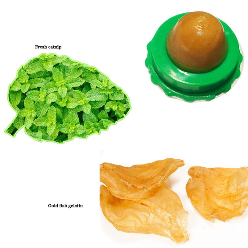 Cat Cat Sugar Solid Nutrition Energy Ball Green Bottom Pet Food Snack Ball PY
