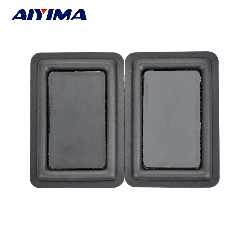 AYIMA 2pcs Defective Scratched 60 90MM Low frequency Radiator Vibration Plate Panels Bass Passive Speaker For