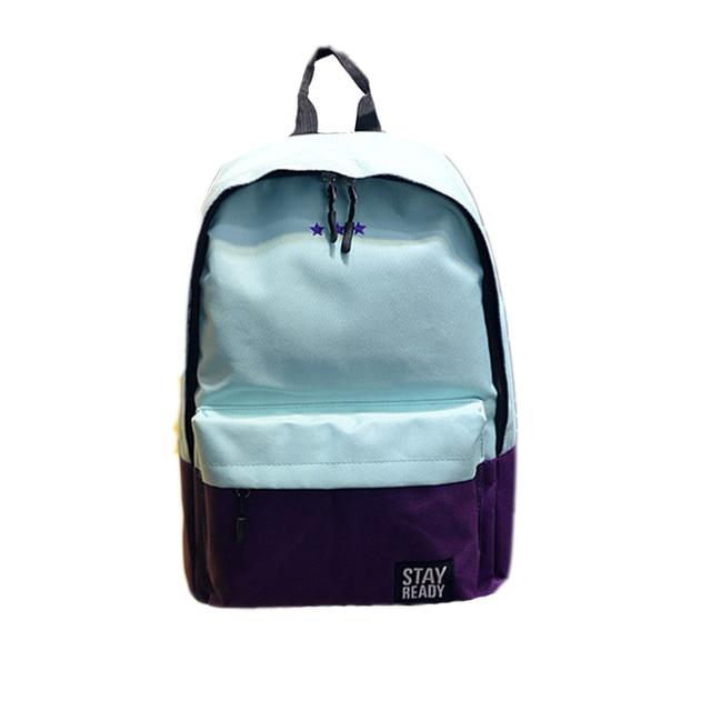 78e2d7151f Trendy Leisure Travel Backpack Lightweight School Rucksack Canvas Hiking  Daypack Outdoor Sport Bag For Men Women Teen Youth
