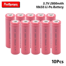 18650 Battery 3.7V 2800mAh Rechargeable Lithium discharge dedicated For Electronic cigarette Power batteries For Flashlight power a c5 rechargeable 4 2v 2800mah 18650 lithium ion batteries pink 2 pcs