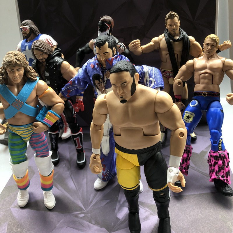 Original Matte Garage Kit 6'' Wrestling Arena Fighter Star Joints Doll In Suit Action Figure Collectible Model Loose Toy Gifts