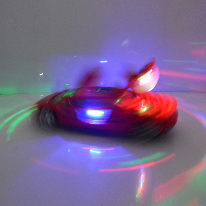 1/18 electric Car kids Toys Dance revolving electric universal With LED Light Toy Gift For Children Boys With Original Box