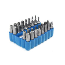 Screw Driver Bits Hollow Screwdriver Kit 33 in 1 Hand Tool Set Hexagonal Hex Cross Torx Drill Shaped(China)