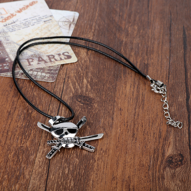 One Piece Roronoa Zoro Collar Colgante