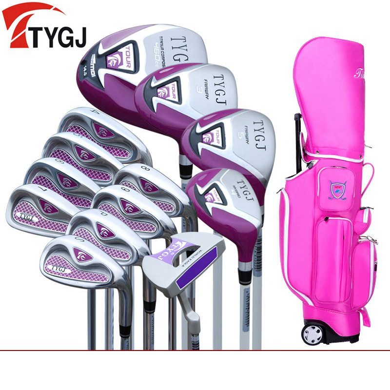 Marka TTYGJ. Xanımlar qadın golf klublarında çanta golf - Qolf - Fotoqrafiya 3