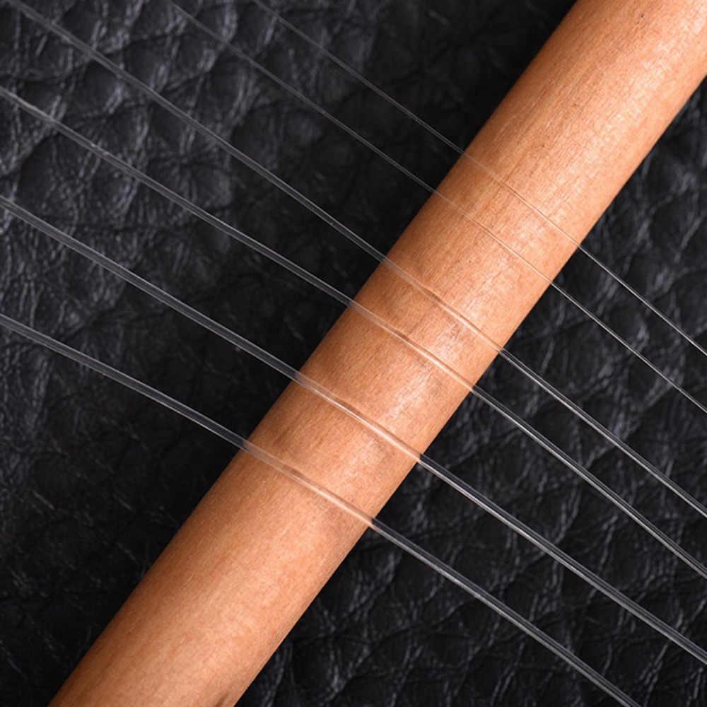 Ligne de pêche à la mouche leo 9FT 0X/1X/2X/3X/4X/5X/6X chef de pêche Monofilament fort clair outil de pêche livraison directe