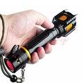 XM-L T6 Тактический СВЕТОДИОДНЫЙ Фонарик 3800Lm самооборона Факел полиции сигнальные лампы водонепроницаемый светодиодный фонарик + 18650 батарея + 1 * зарядное устройство