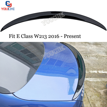 W213 AMG Style ABS Rear Spoiler Tail Wing for Mercedes E Class W213 2016 - Present 4-Door Sedan E200 E220 E250 E300