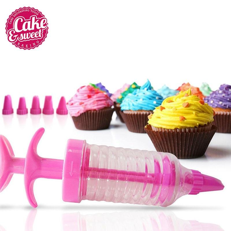 8 Stücke Düsen Kunststoff Zuckerglasur-friedliche Creme Spritze - Küche, Essen und Bar - Foto 2