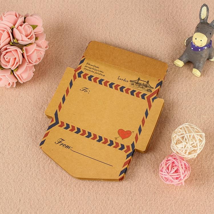 45pcs/Lot London Bridge 12.6*9.4cm Vintage Kraft Paper Envelope Memo Pads Planner Sticky Notes School Office Stationery