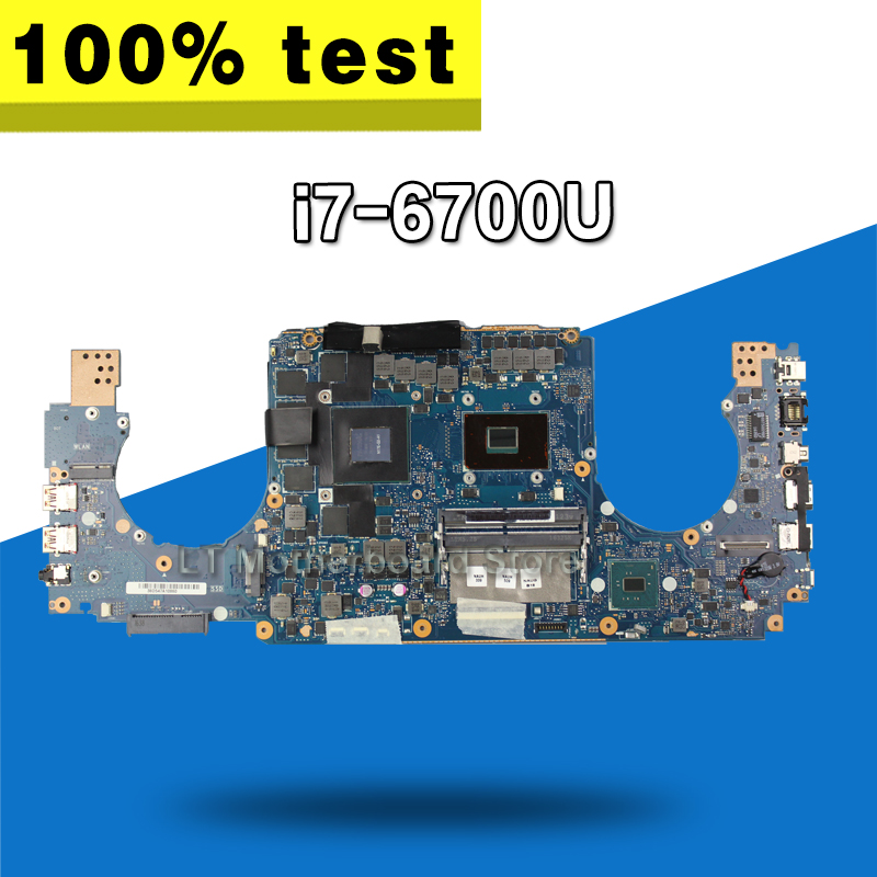 купить GL502VS GTX 1070/8G video card/I7-6700 motherboard For Asus R0G GL502V Laptop motherboard Mainboard по цене 39642.54 рублей