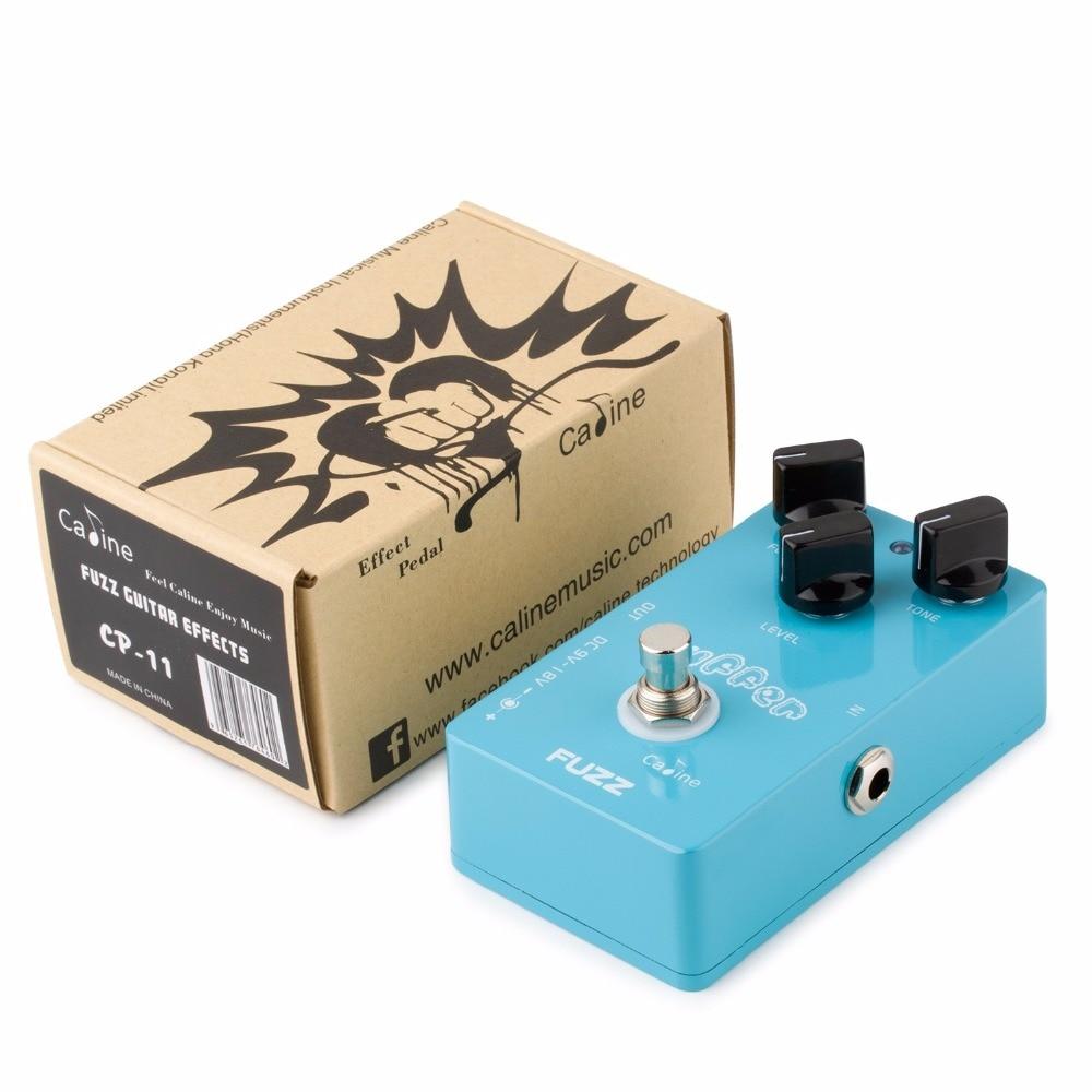 Caline CP-11 Puffer FUZZ Guitar Effect Pedal Mini CP11 Guitar Pedals - Երաժշտական գործիքներ - Լուսանկար 6