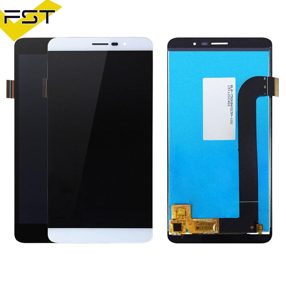 100% getestet Für Coolpad E570 LCD Display Touchscreen Für Coolpad Porto S E570 LCD Display Komplette Baugruppe Telefon Teile