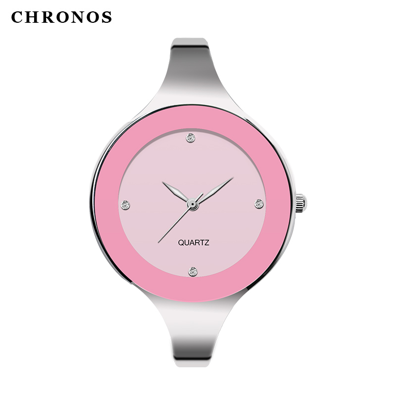 CHRONOS luxury brand name fashion waterproof watch women's casual quartz stainless steel strap women's watch Relogio feminino meibo brand fashion women hollow flower wristwatch luxury leather strap quartz watch relogio feminino drop shipping gift 2012