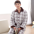 Factory price! Russia men warm winter overalls , winter clothes for male ,knitting quilted pyjamas home wear plus size sleepwear