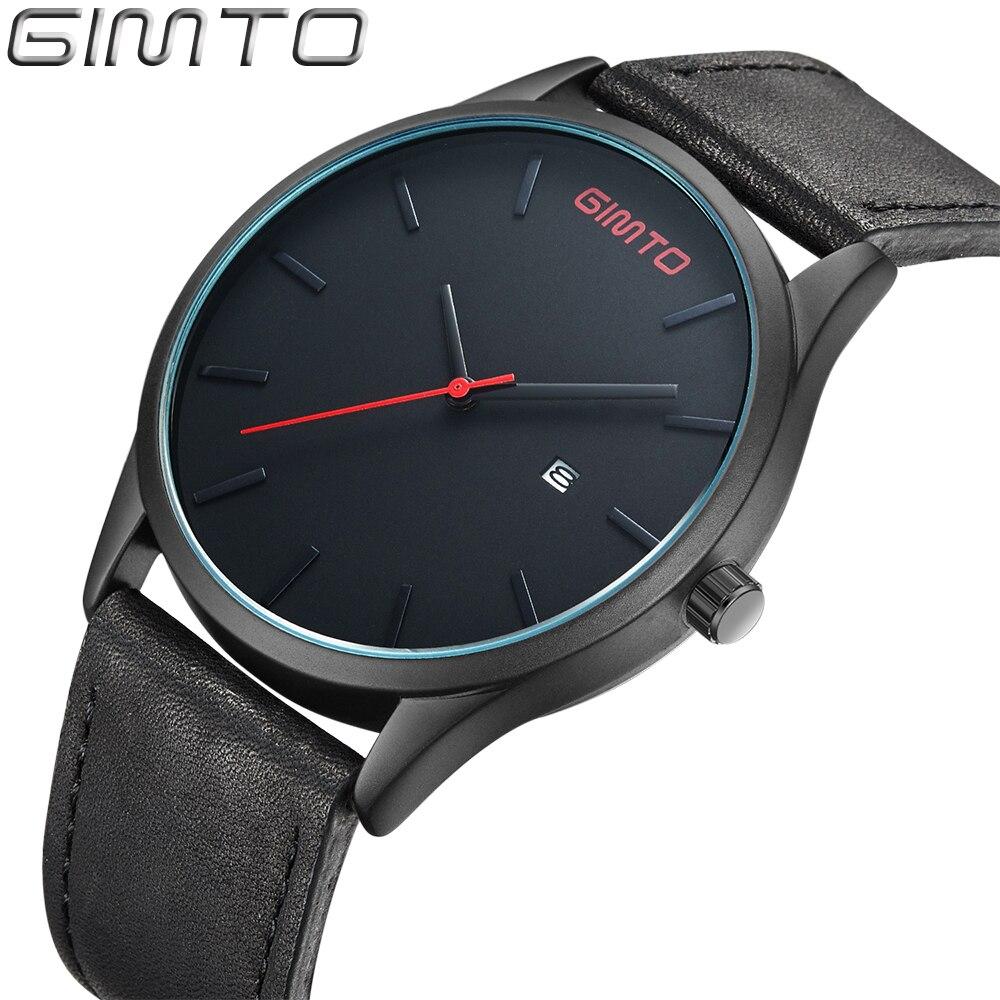 ФОТО New Arrival 2016 Relogio Masculino Genuine Leather Business Reloj Hombre Marca de Lujo Retro Simple Erkek Kol Saati Sport Clock