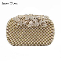 2015 New Diamond Evening Bags Peacock Clutches High Grade Beaded Crystal Clutch Rings Wedding Party Purse