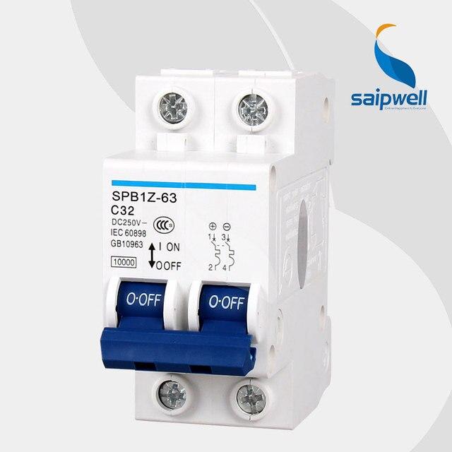 Aliexpress.com : Buy Wholesale Saipwell 2 Pole 440V 63A Miniature ...