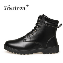 New Arrival Working Boots Men Safety Shoes Booties Man Leather Fashion Winter Snow Boot Army Military Tactical