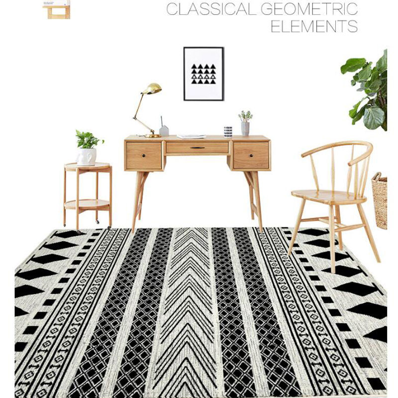 Fashion 160X230cm Large Size European Modern Carpet And Floor Rugs And Carpets Anti-skid Carpets For Living Room Bedside Carpet